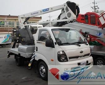 Автовышка 21 метр HORYONG SKY 210A на базе KIA BONGO 3