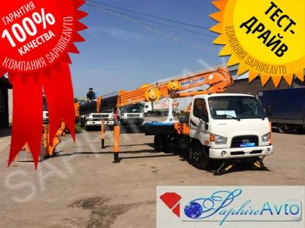 Автовышка 28 метров DONGHAE  DHS280AP на базе Hyundai HD 78 (28 м.)