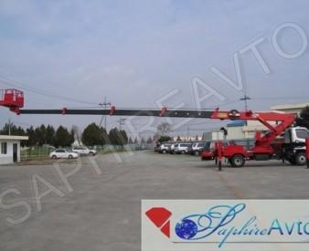 Автовышка 27 метров HANSIN HS2750 на базе Hyundai HD 78